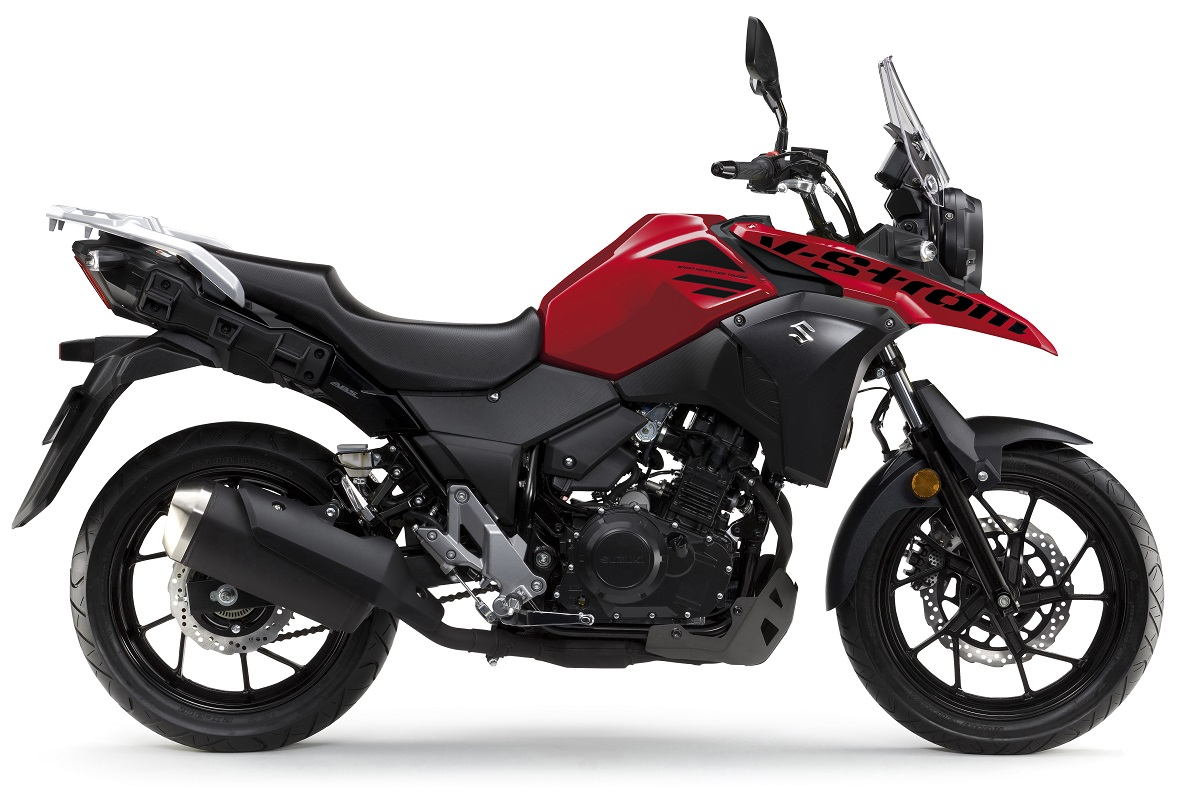 DL 250 V-Strom ABS אדום-שחור