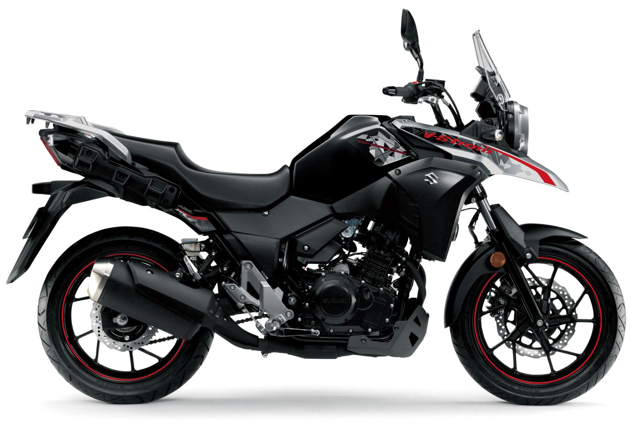 DL 250 V-Strom ABS אפור אדום