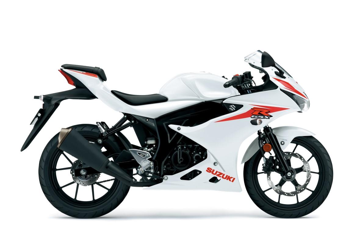 GSX-R125 ABS לבן