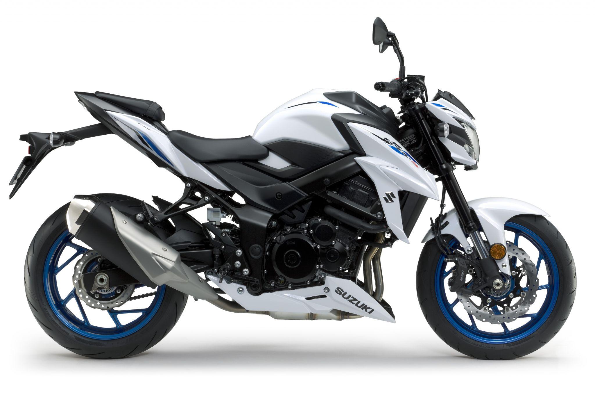GSX S750 ABS שחור כחול