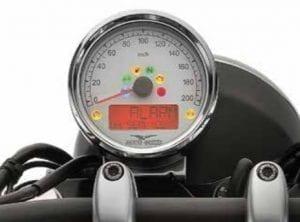 V9 לוח מכשירים של אופנוע כביש