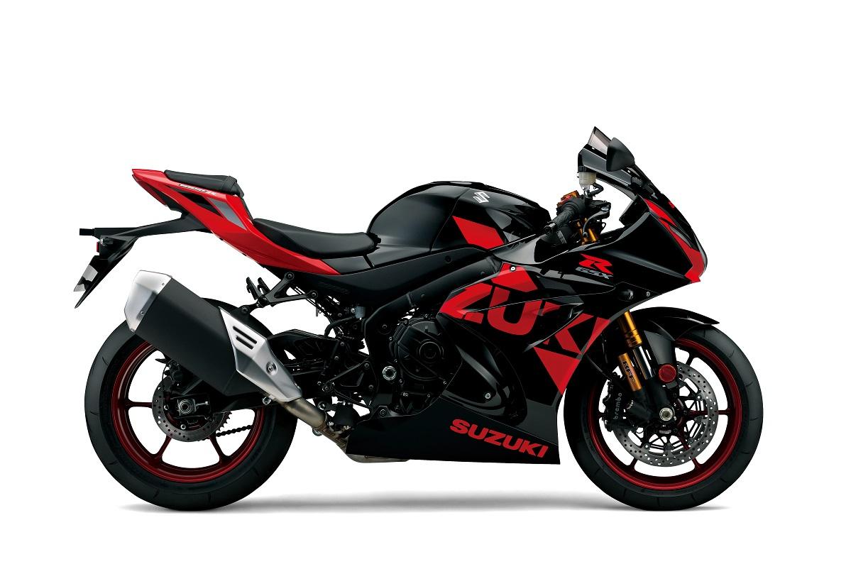 GSX - R1000R אדום-שחור