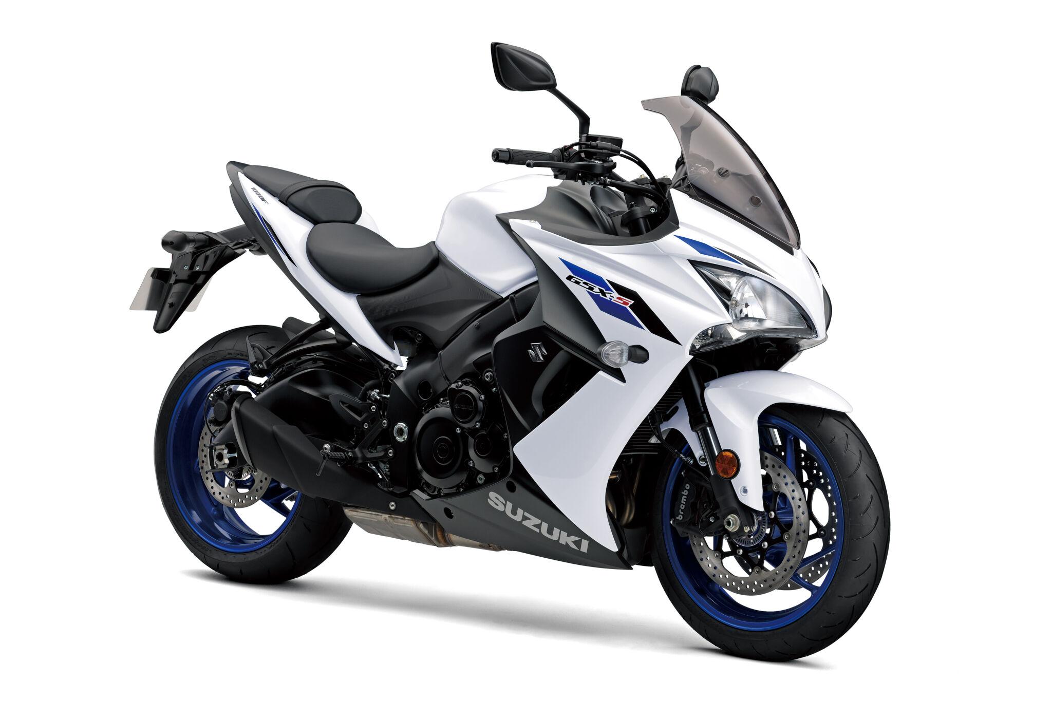GSX-S1000 FA  לבן מבריק