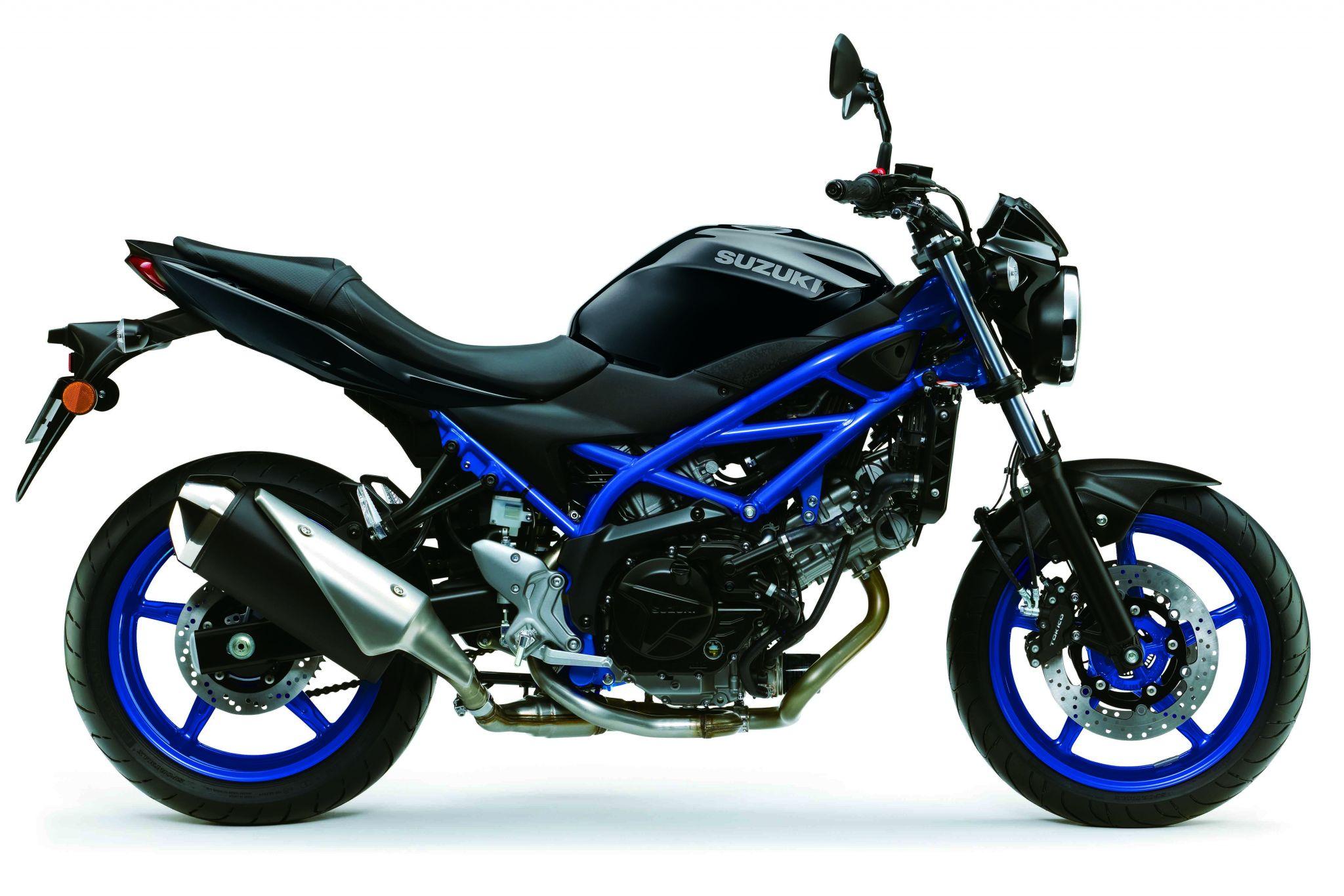 SV 650  שחור כחול