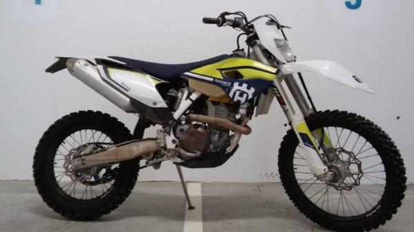 אופנוע שטח יד שניה HUSQVARNA