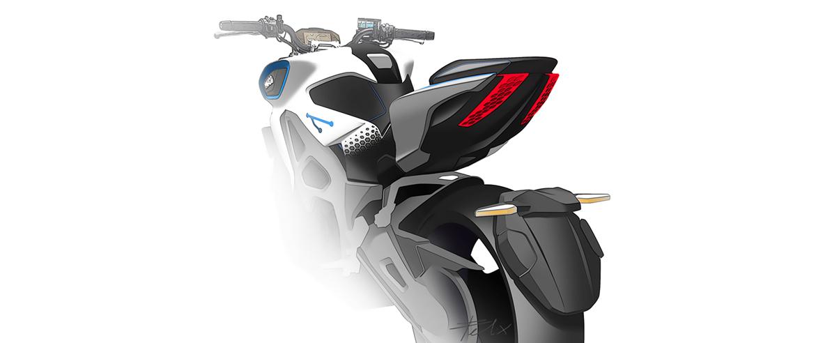 קימקו חושפת את ה-RevoNEX אופנוע חשמלי<br />