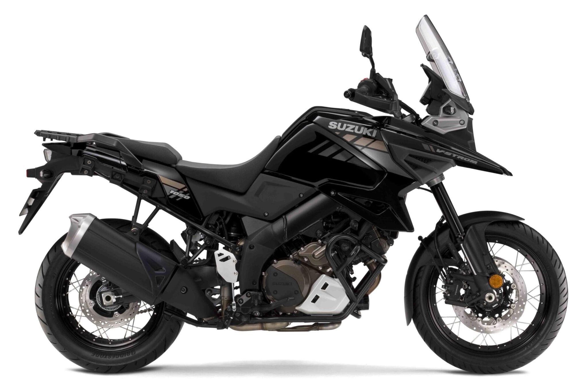 DL 1050XT V-Strom שחור