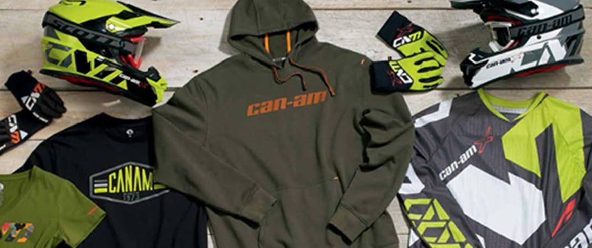 כל בגדי החורף של CAN AM במכירה מטורפת במחלקת פנאי ושטח